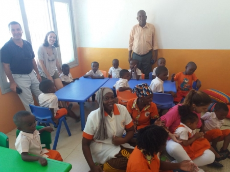 Crianças em Monapo têm pela primeira vez acesso ao ensino pré-escolar