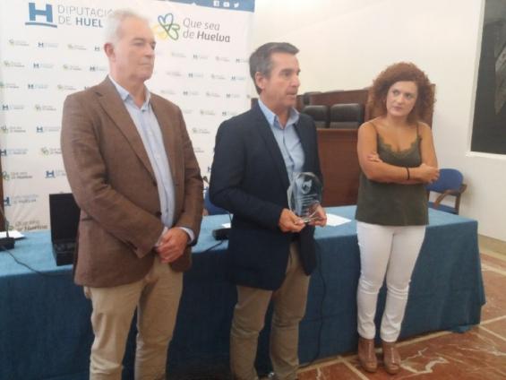 ADPM recebe prémio de Cooperação Transfronteiriça da Diputación de Huelva