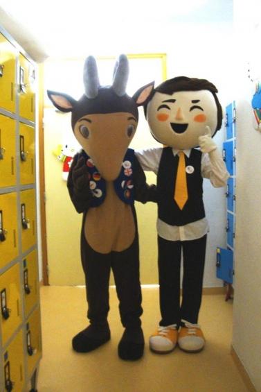 Semana Regional Europeia e Campanha COOL vão às escolas - e levam as mascotes