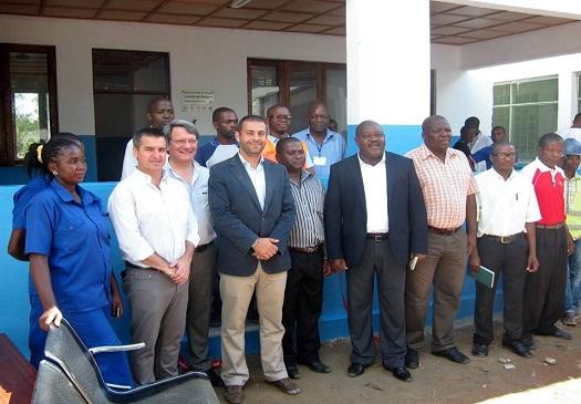 Projeto da ADPM possibilita a ampliação do Centro de Saúde de Monapo