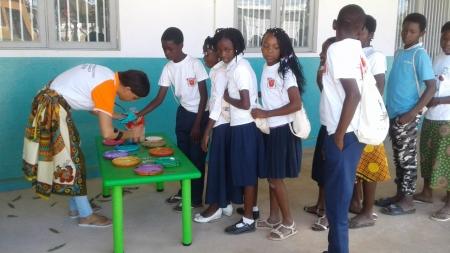 Um dia diferente para as crianças e jovens de Monapo – Moçambique