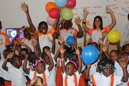 O Primeiro 1 de Junho no Centro Infantil