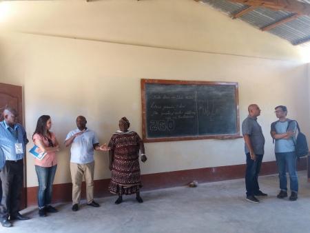 Visita de acompanhamento do Camões ICL a projetos implementados pela ADPM em Moçambique