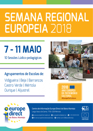 Europe Direct do Baixo Alentejo promove a Semana Europeia