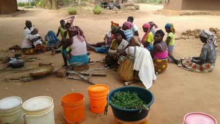 ADPM promove ações de nutrição para mulheres no Bairro de Napala - Monapo, Moçambique