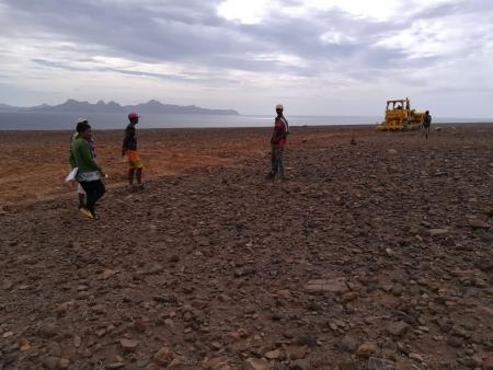 Famílias de Casa do Meio mais perto de ter terreno agrícola para sustento próprio