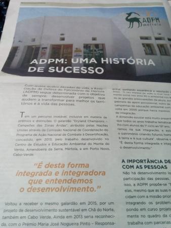 ADPM em destaque no Diário do Alentejo