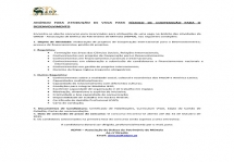 Anúncio de vaga para Técnico de Cooperação para o Desenvolvimento