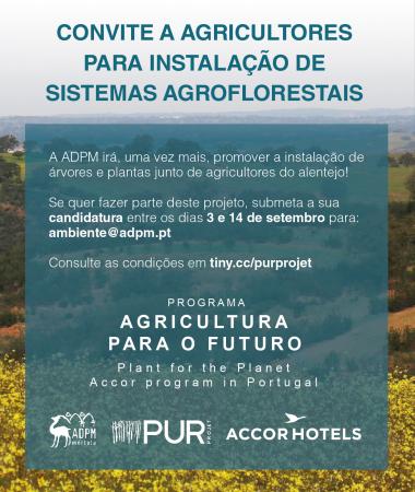 Convite a Agricultores para a Instalação de Sistemas Agroflorestais