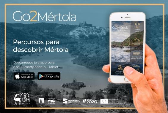 GO2MÉRTOLA: a aplicação que permite explorar o destino