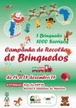 Campanha de recolha de brinquedos 1 Brinquedo, 1000 Sorrisos