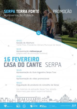 Apresentação pública do Projeto Serpa Terra Forte - Promoção