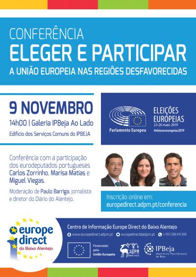 Beja recebe conferência com eurodeputados portugueses