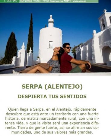 Serpa em destaque na revista espanhola Top Viajes