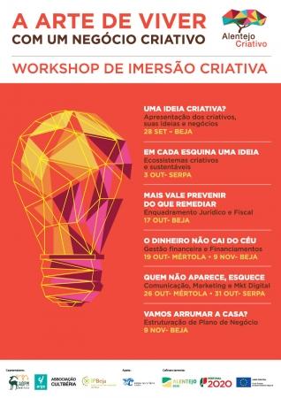 """ADPM promove o workshop """"A Arte de Viver com um Negócio Criativo"""""""