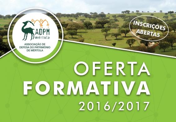 Oferta Formativa para 2016/2017