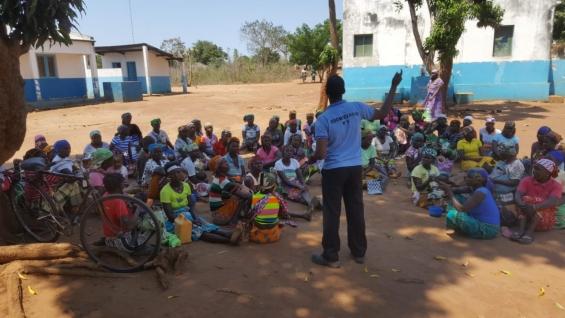 450 voluntárias formadas nas Oficinas formativas nas áreas da saúde materno infantil e da nutrição em Monapo – Moçambique