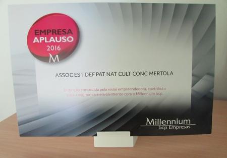ADPM distinguida com o prémio Empresa Aplauso 2016