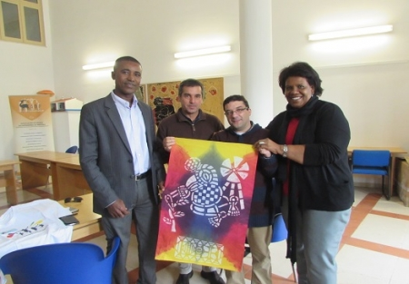 Presidente da Câmara Municipal de Porto Novo visita a ADPM