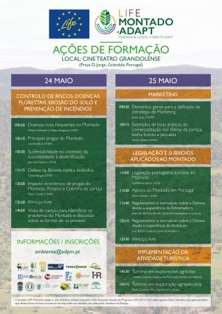 Projeto Life Montado-Adapt promove ações de formação para agricultores em Grândola