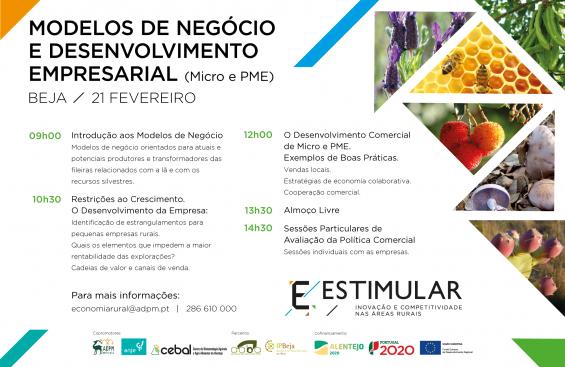 Projeto ESTIMULAR Promove Sessão sobre Modelos de Negócio e Desenvolvimento Empresarial