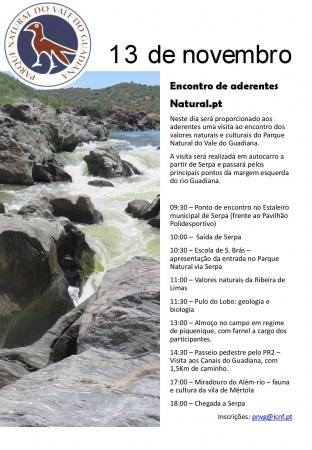ICNF e ADPM PROMOVEM ENCONTRO DE ADERENTES DA MARCA NATURAL.PT