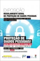 CIED do Baixo Alentejo e Biblioteca Municipal de Beja promovem exposição e sessão de esclarecimento sobre o Regulamento Geral da Proteção de Dados