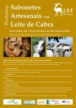 Workshop Sabonetes Artesanais com Leite de Cabra