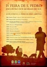IV Feira de São Pedro & Encontro dos Moirais do Sul - Um tributo para quem trabalha de Sol a Sólis